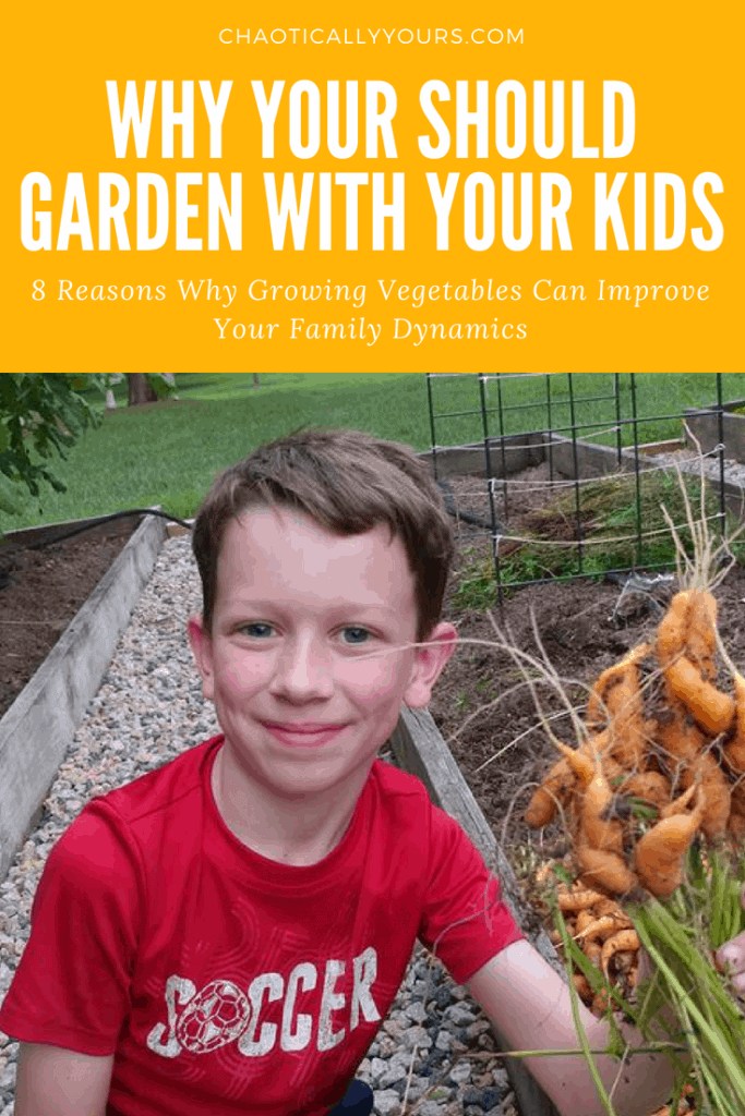 plant a garden with young children