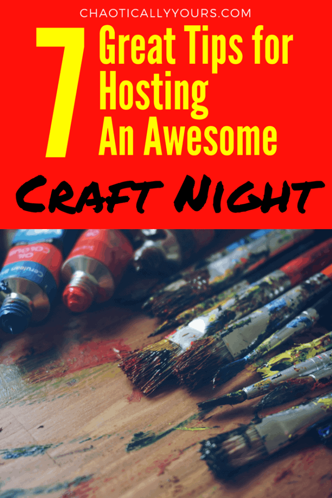 Have an awesome craft night with these great tips