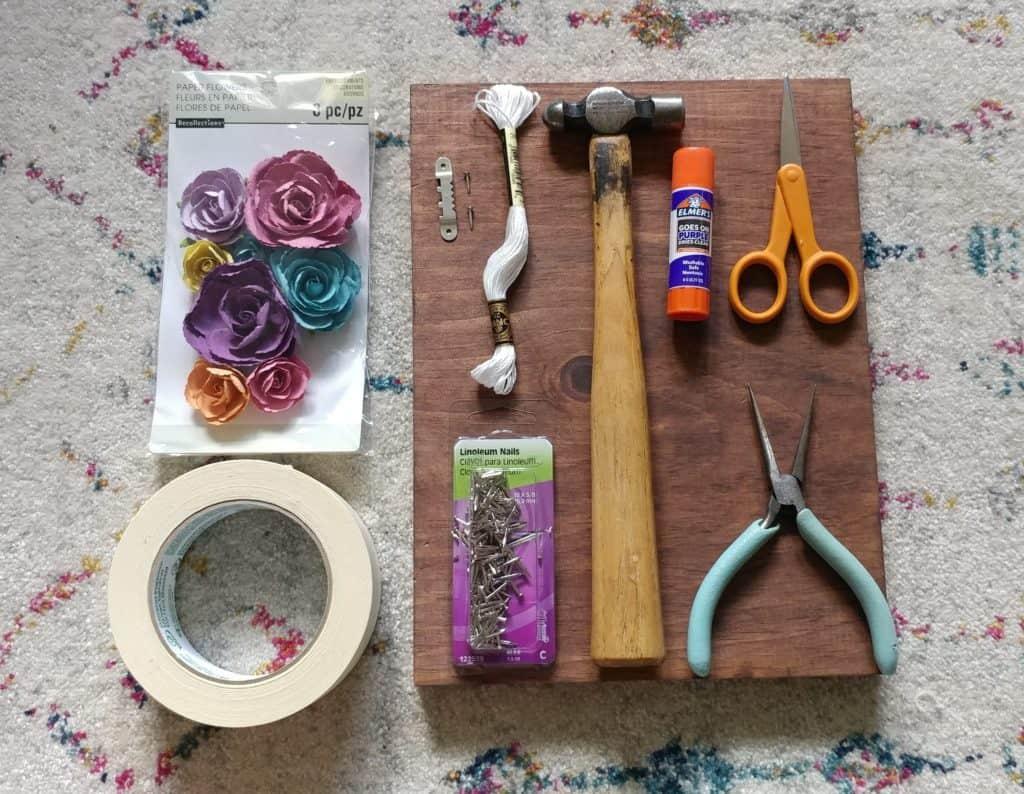 Mason Jar Strin Art Supplies