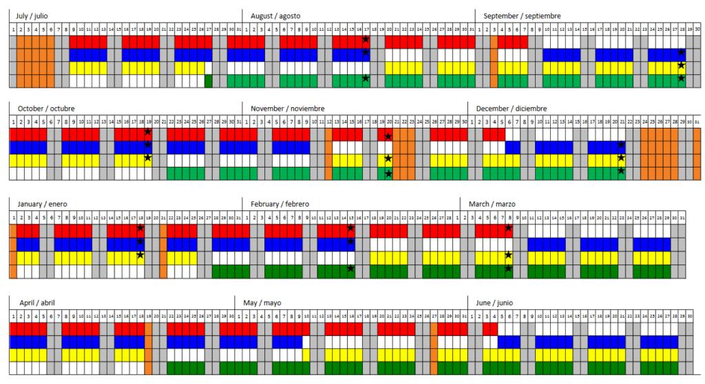 year round public school calendar
