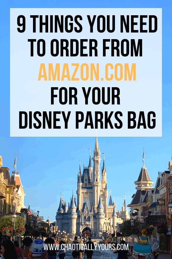 Order These Things To Pack the Perfect Disney World Bag
