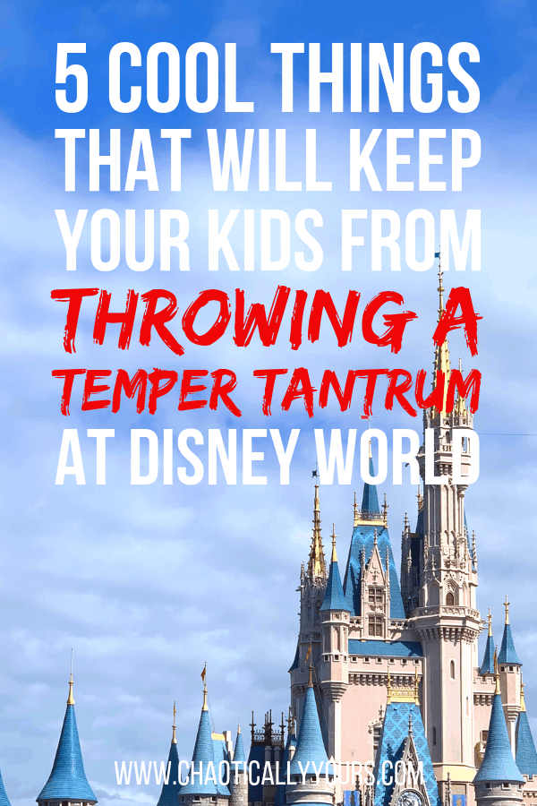 Five cool things that will keep your kids from throwing a temper tantrum at Disney World
