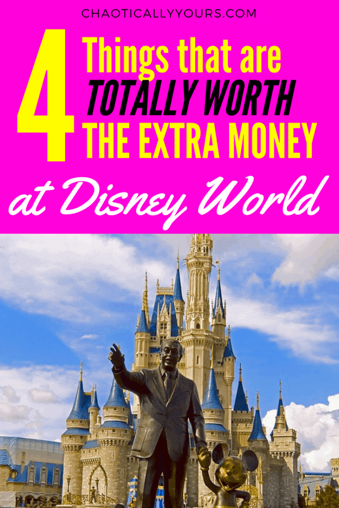Four things totally worth the extra time and money at Disney World!