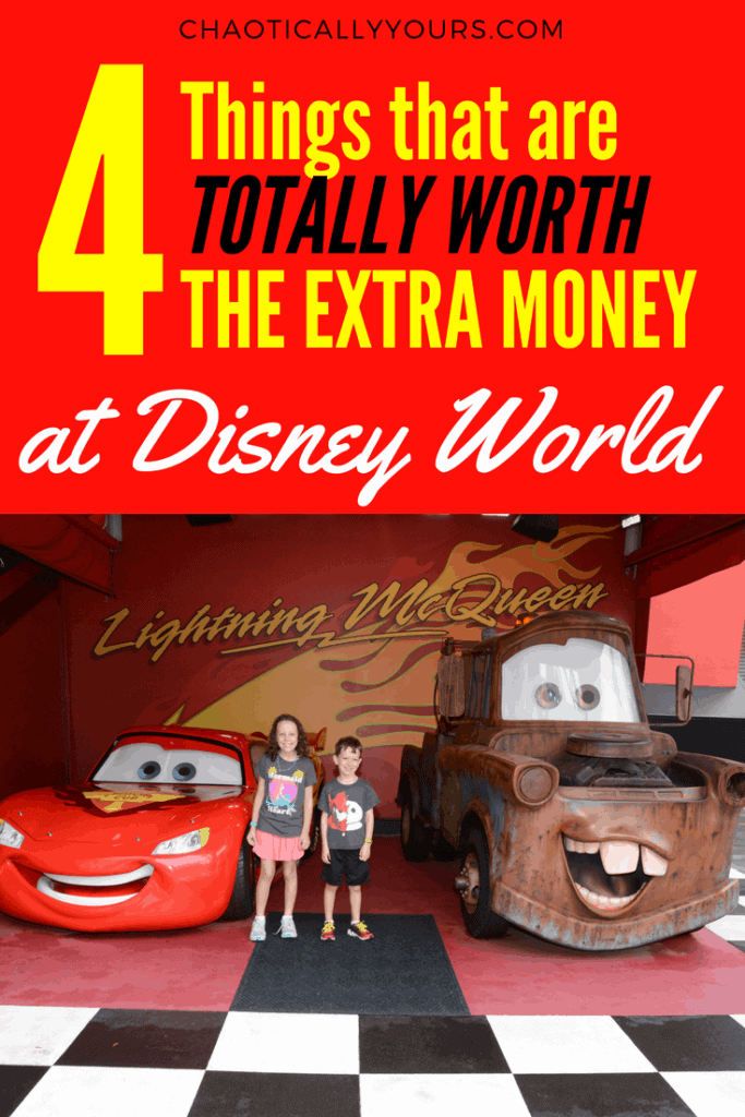Definitely worth the extra money for these cool experiences at Walt Disney World