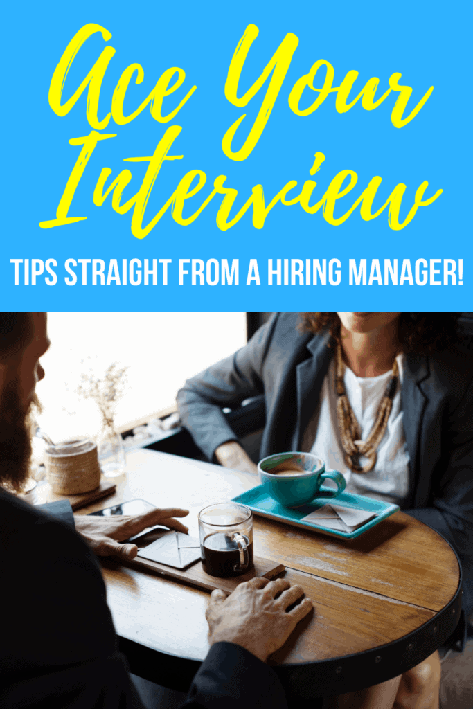 Learn how to land the job with interview tips straight from a hiring manager! #job #interview #employment