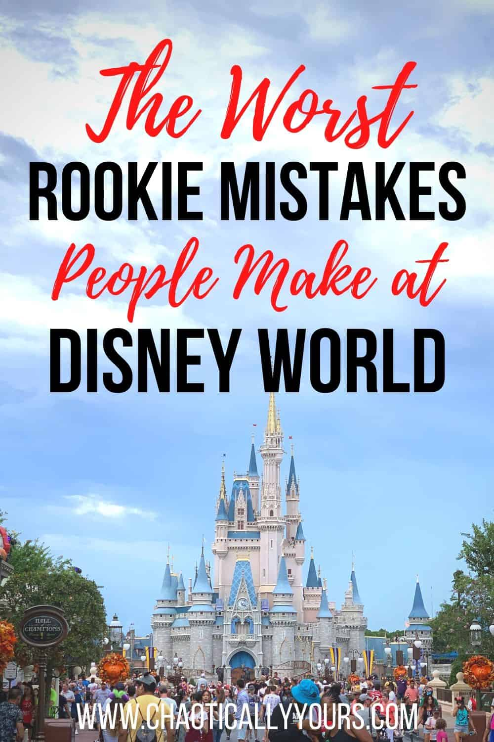 Pin image for Don't Make These Rookie Mistakes at Disney World