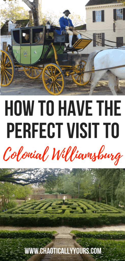 Colonial Williamsburg: How to have the perfect visit!