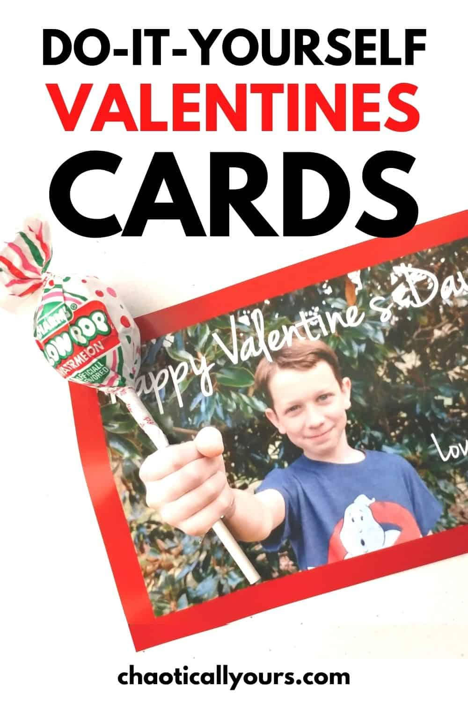 DIY Valentines Cards pin image