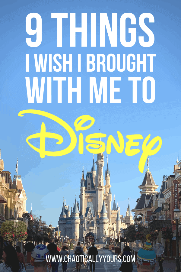 9 Things I Wish I Brought With Me To Disney World