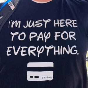 Disney World Parade Grand Marshal: the t-shirt that got us noticed