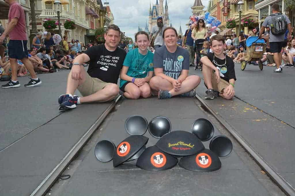 Disney Parade: The special Mickey Ears that were given to us when we were the grand marshals of the parade at Walt Disney World's Magic Kingdom.