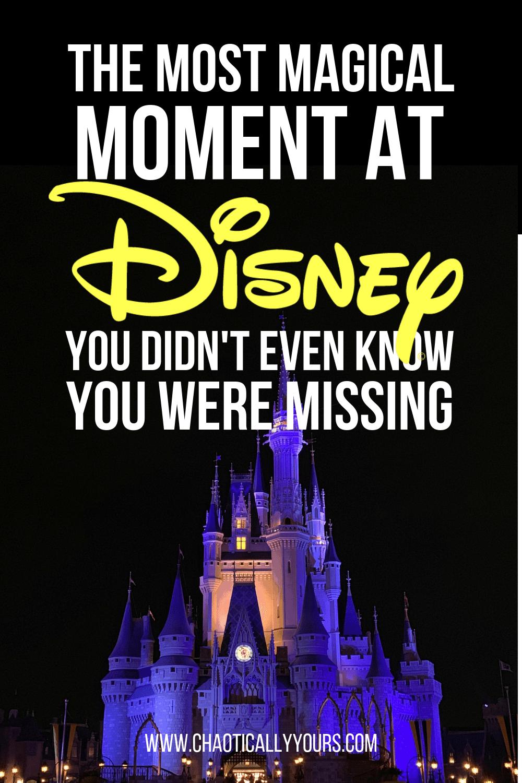 The Kiss Goodnight at the Magic Kingdom in Walt Disney World Resort