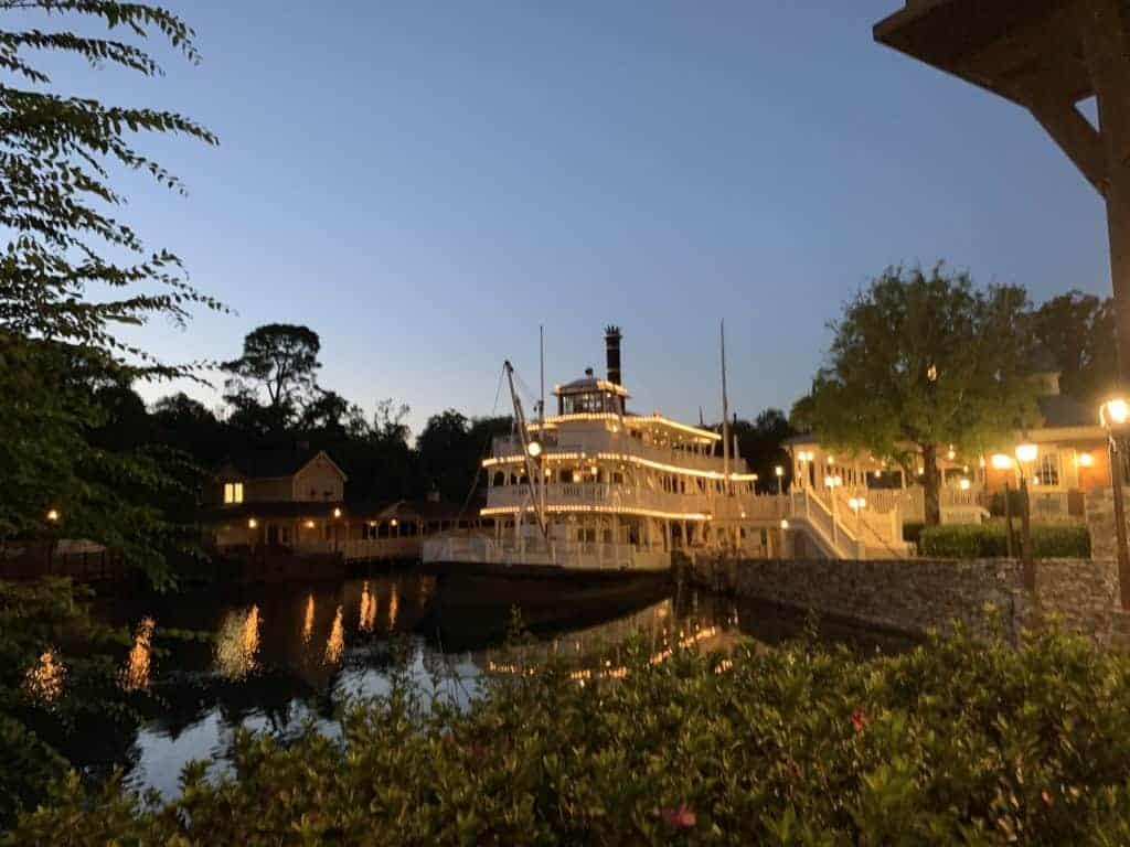 Liberty Belle Riverboat at the Magic Kingdom in Walt Disney World