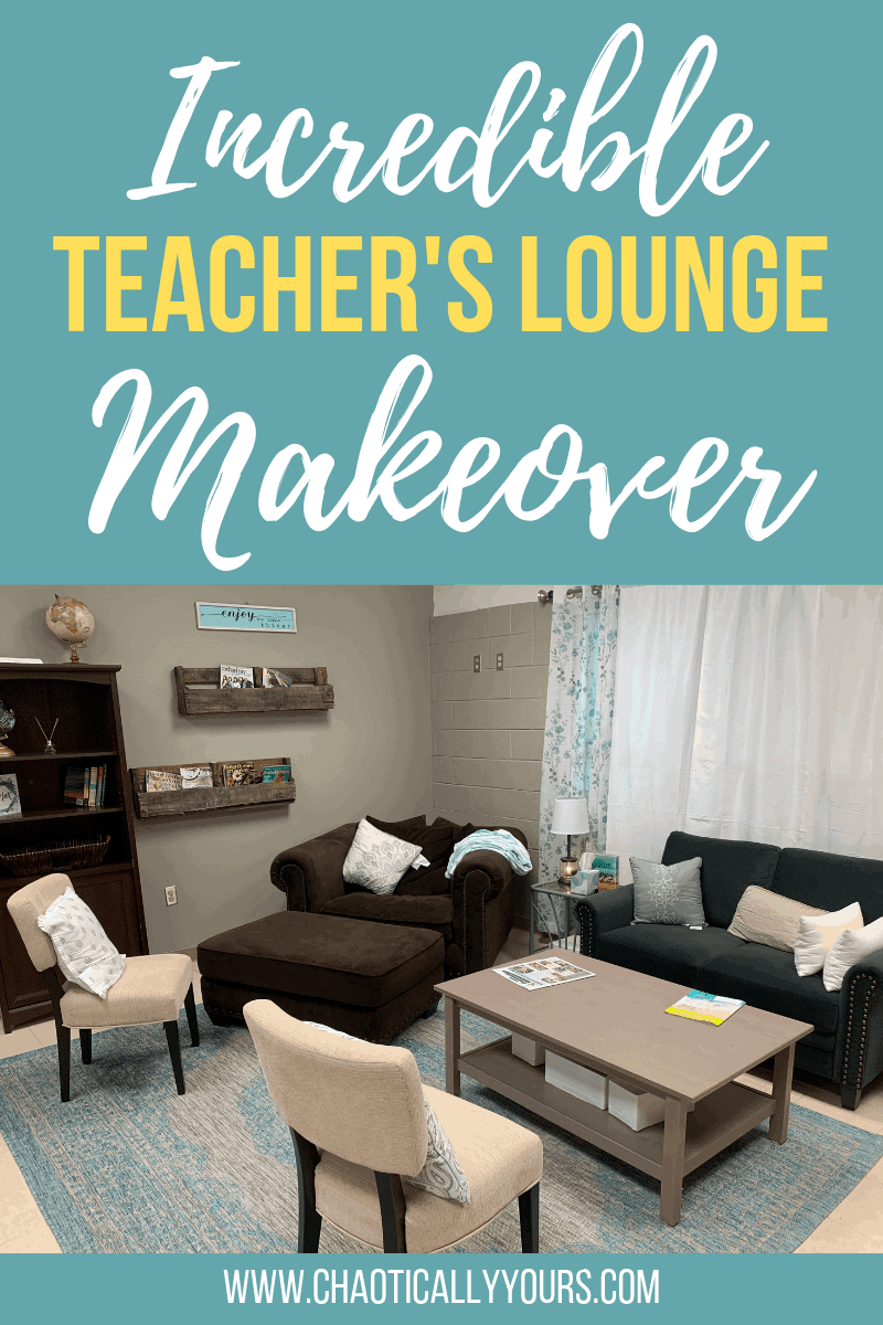 Incredible Teacher's Lounge Makeover!!