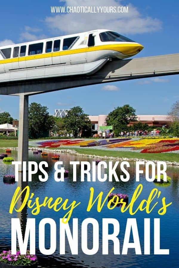 Tips and Tricks for Walt Disney World's Monorail