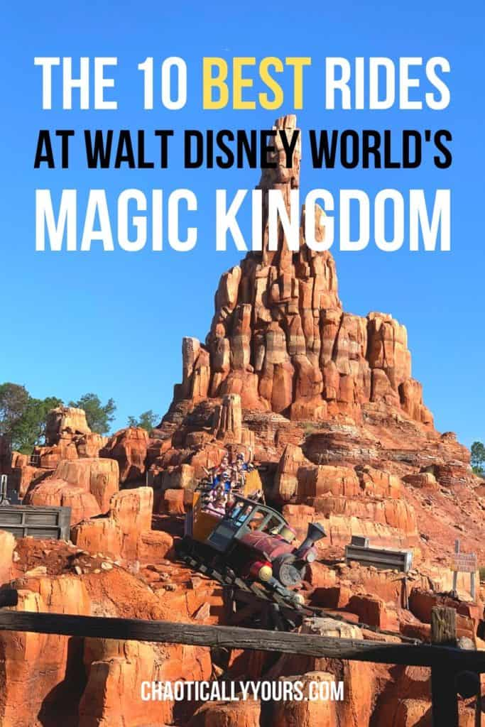 Ten Best Rides of the Magic Kingdom