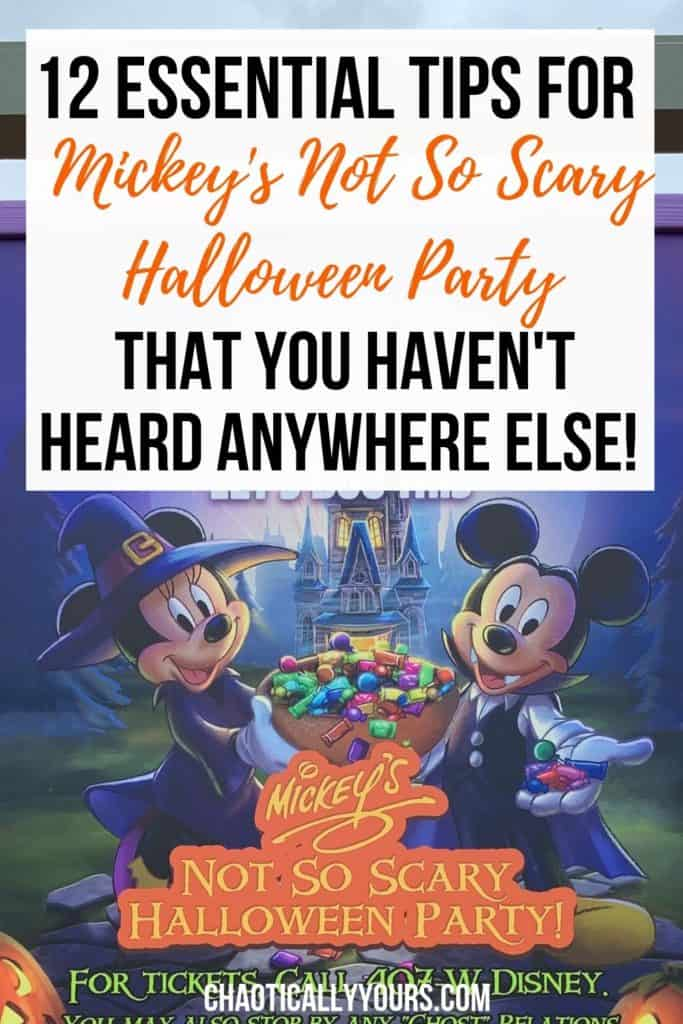 Mickey's Not So Scary Halloween Party Tips You Haven't Heard Anywhere Else!