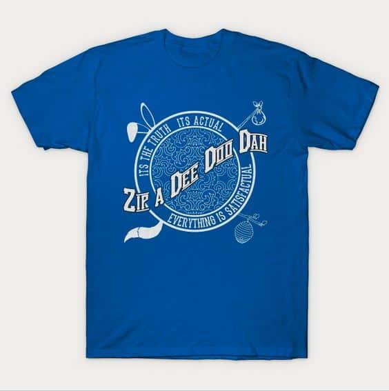 Zip A Dee Doo Dah t-shirt