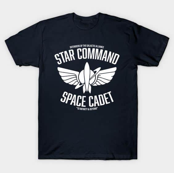 Star Command Space Cadet T-shirt