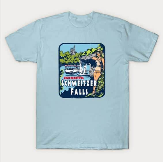 Schweitzer Falls t-shirt