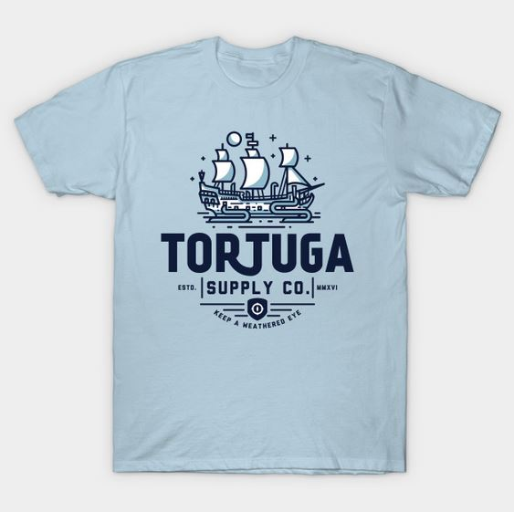 Tortuga Supply Company t-shirt