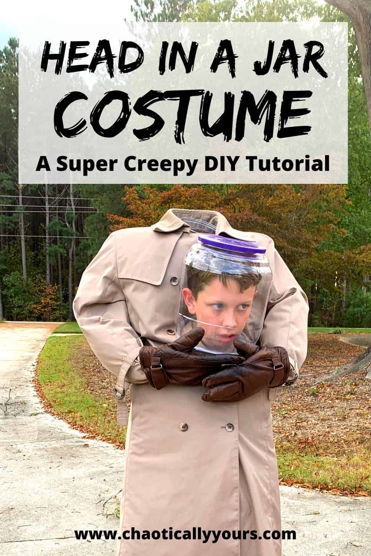 Head In A Jar Costume: A Super Creepy DIY Tutorial