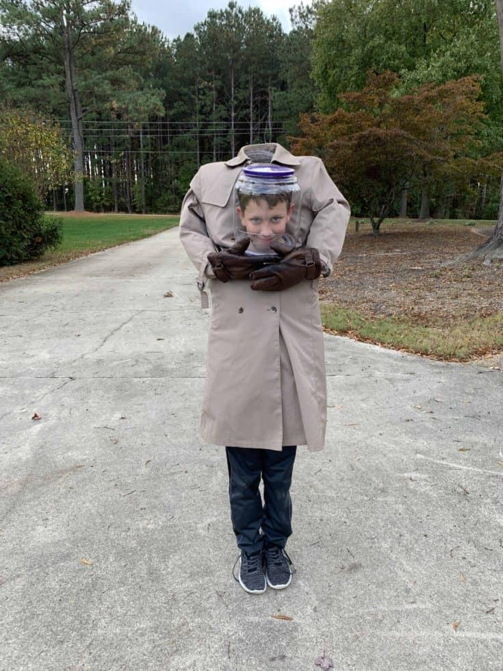 Head In A Jar Costume