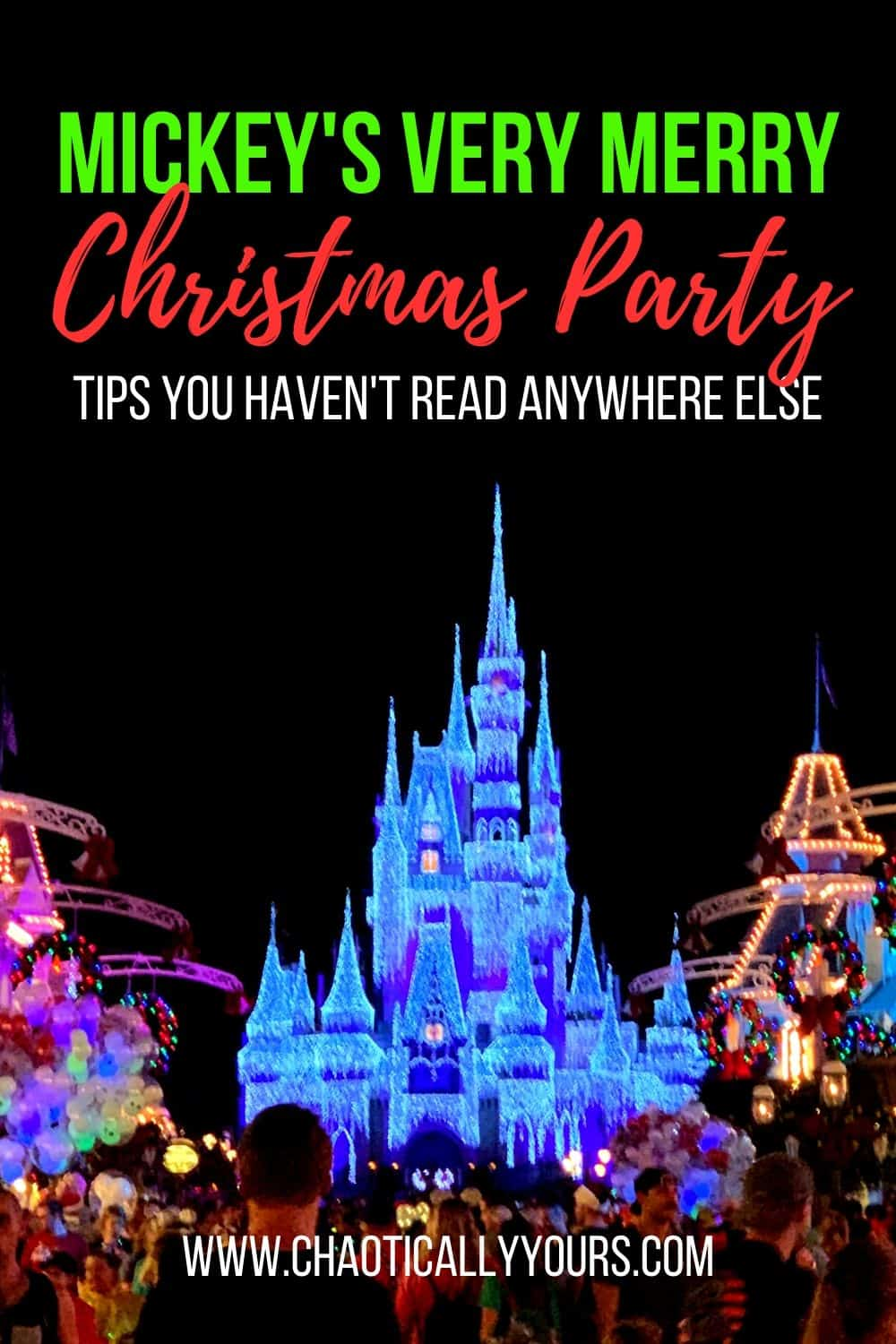 Allergy Friendly Mickeys Very Merry Christmas Party 2021 Mickey S Very Merry Christmas Party Tips You Haven T Heard Anywhere Else Chaotically Yours