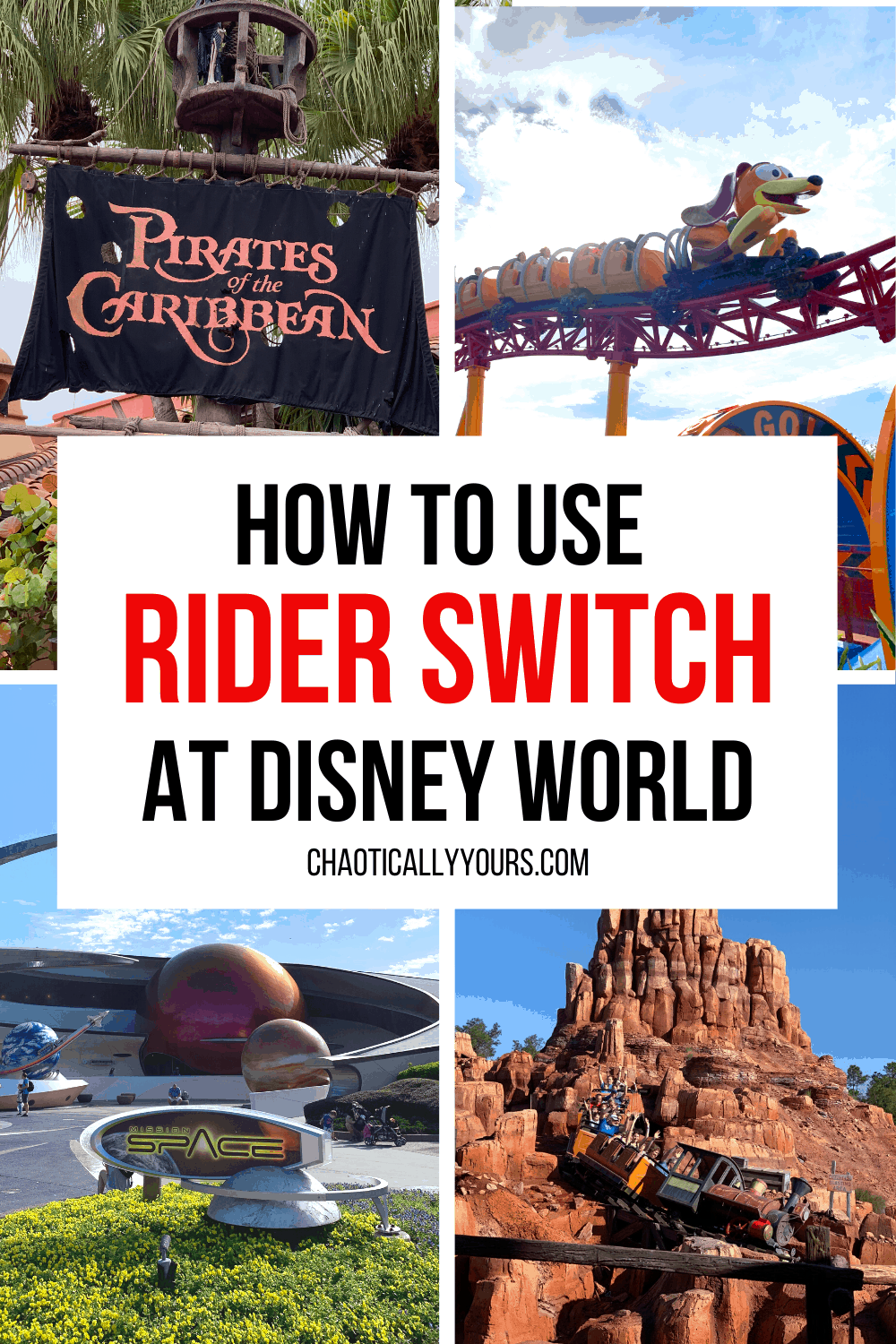 How To Use Disney Rider Switch collage