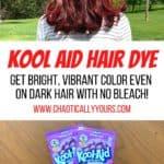 Kool aid hair dye pin image