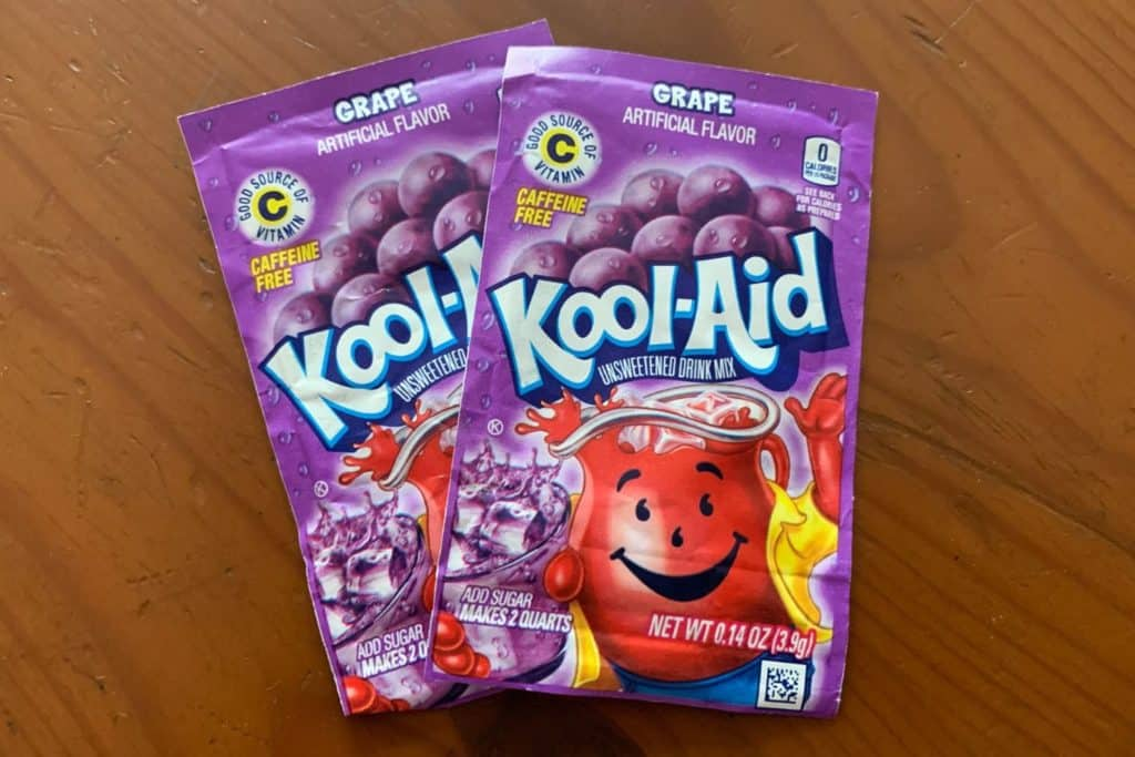 Purple Kool Aid Packets
