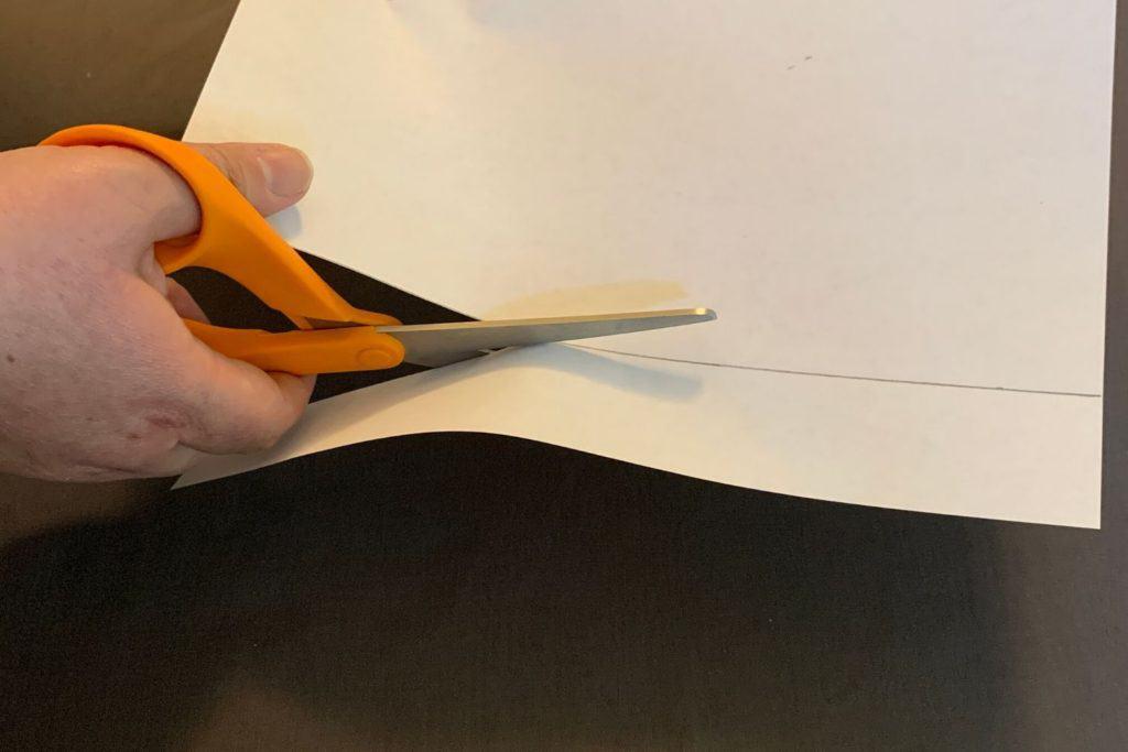 cutting strips for hexaflexagons