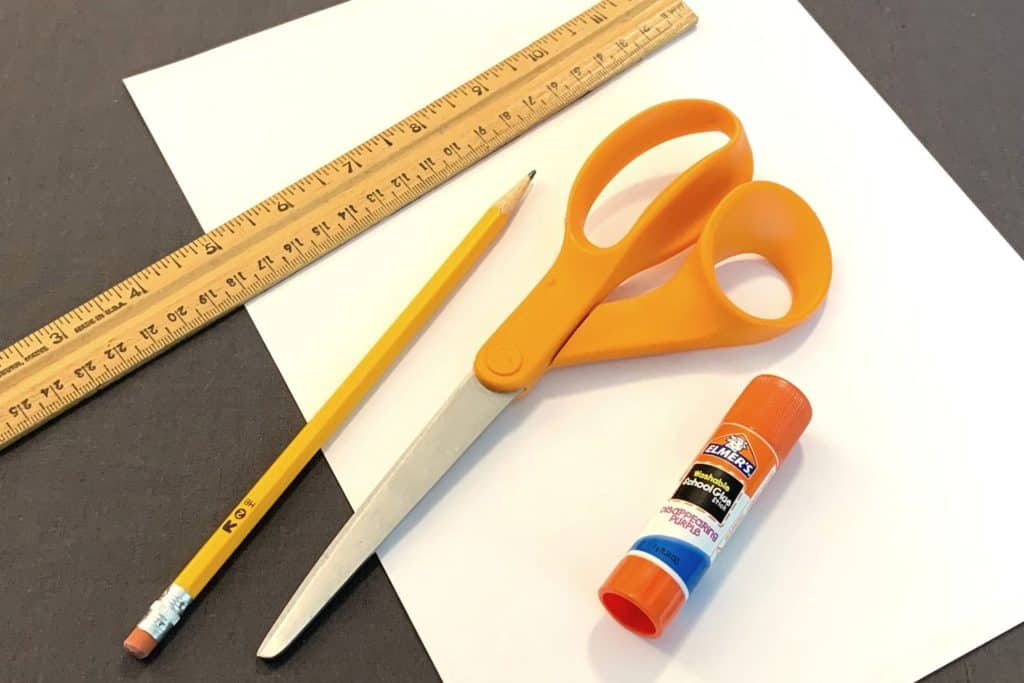supplies needed for hexaflexagon