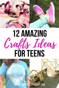 12 Amazing Craft Ideas for Teens pin image