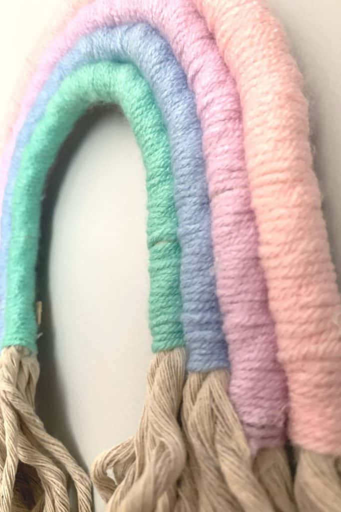 Rope Rainbow close up