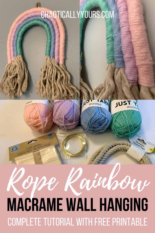 Rope Rainbow Pin Image
