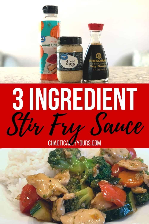 3 ingredient stir fry sauce pin image