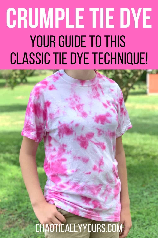Crumple Tie Dye Pin Image