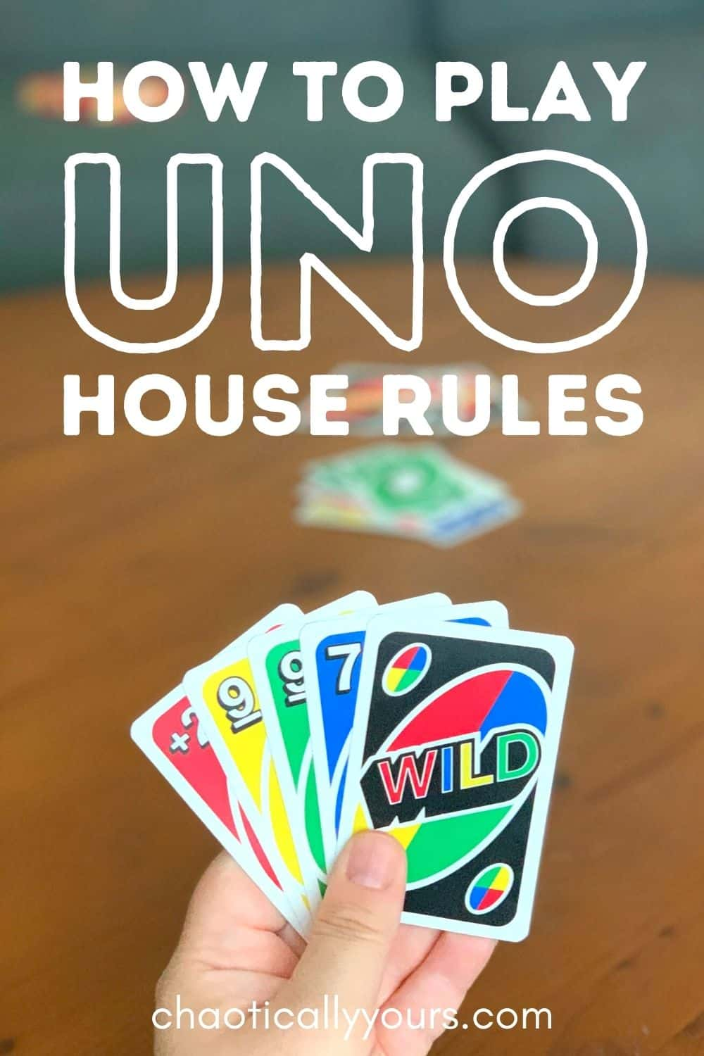 Uno House Rules Pin Image