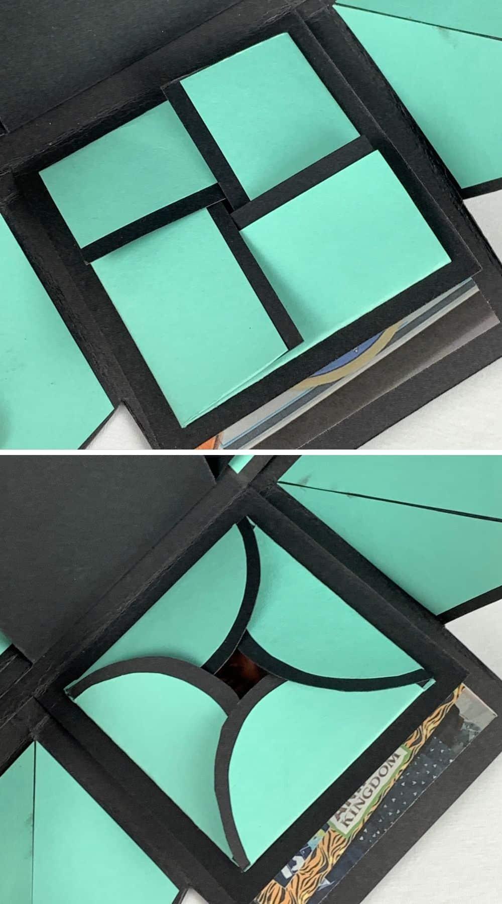 exploding box DIY origami folds
