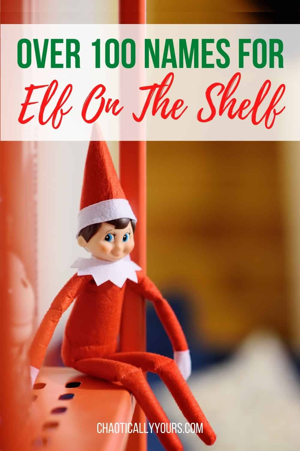 Names for Elf On The Shelf Pin Image