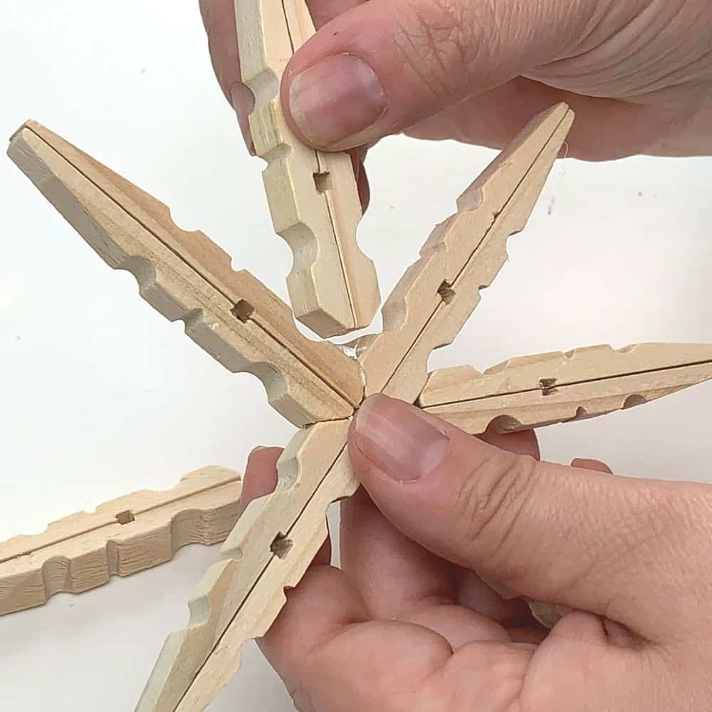 Adding More Clothespins