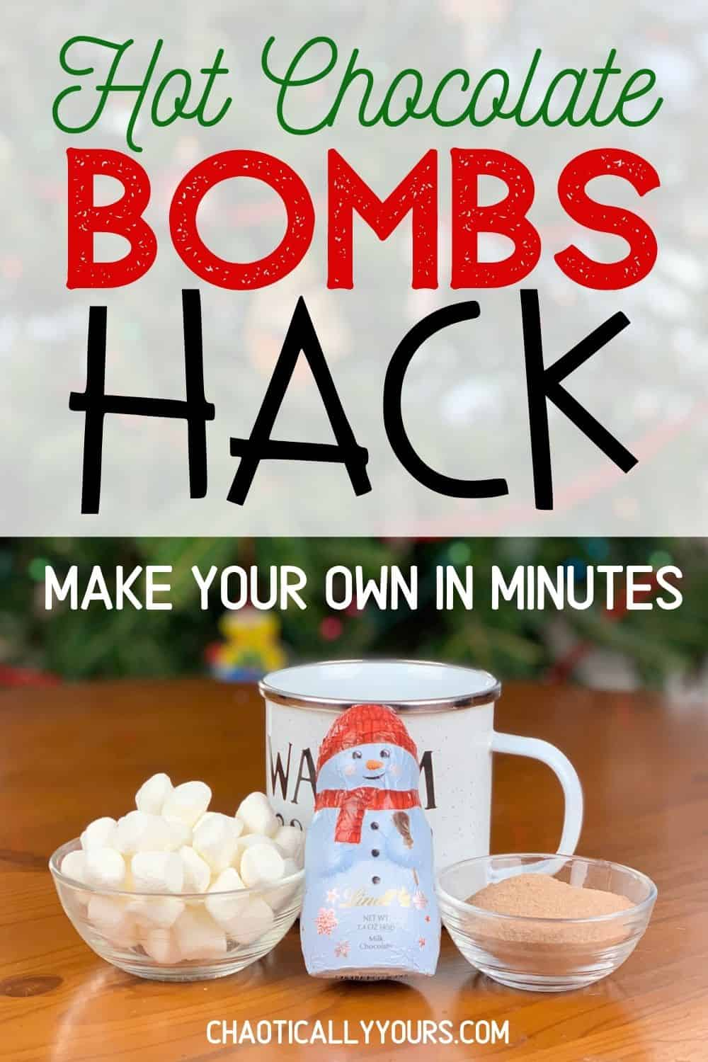 hot chocolate bombs hack pin image