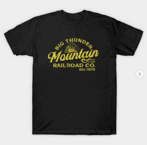 big thunder mountain railroad t-shirt