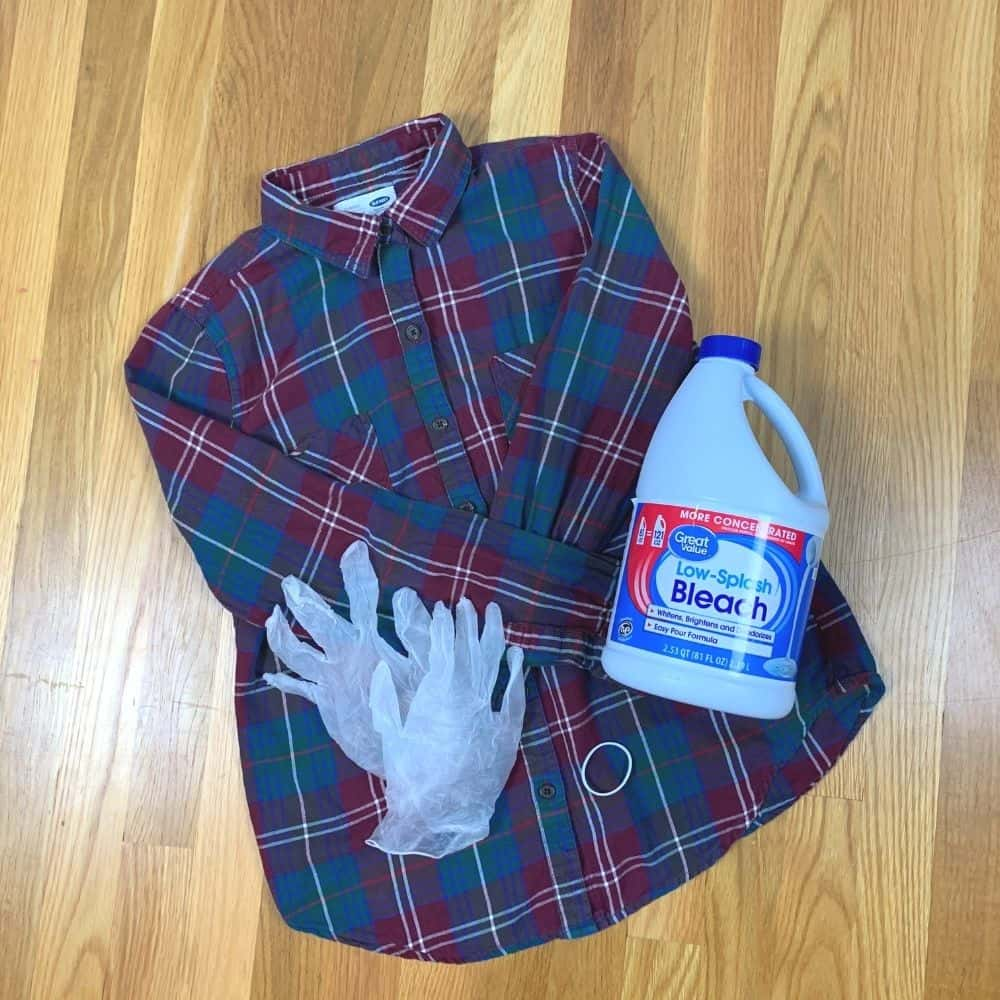 bleach flannel supplies
