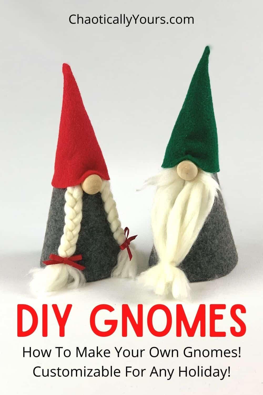 DIY Gnomes pin image