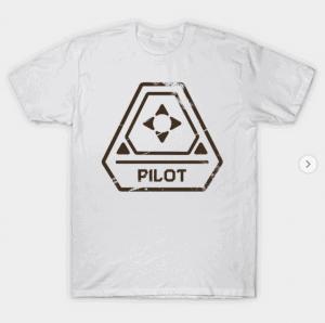 millenium falcon pilot shirt