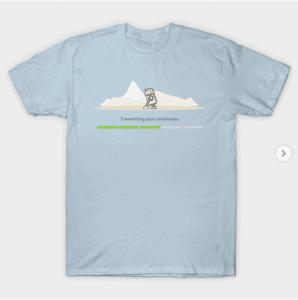 Boarding group t-shirt