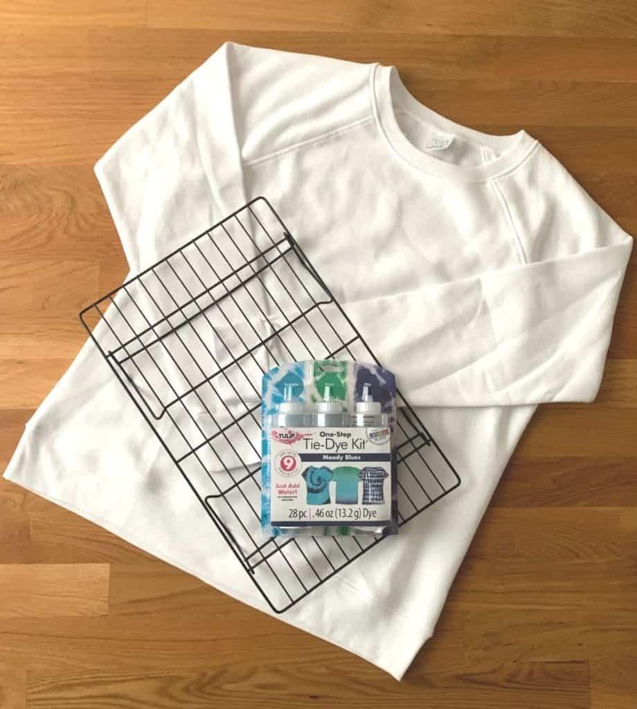 ice tie dye supplies