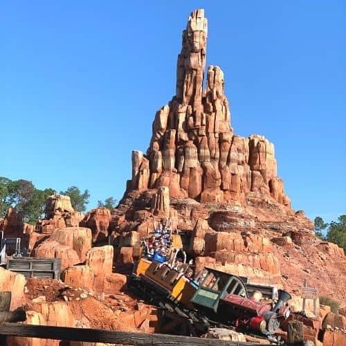 Big Thunder Mountain Railroad at Disney world